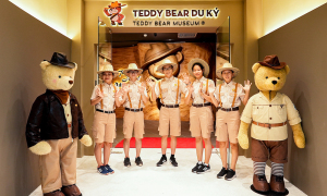 Check-in bảo tàng gấu bông đầu tiên tại Việt Nam
