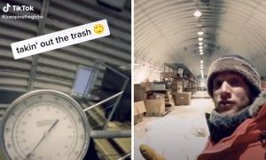 Đổ rác ở nơi lạnh nhất thế giới như thế nào?