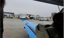 Cửa thoát hiểm rơi khỏi máy bay khi cất cánh