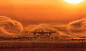 Máy bay có thể bị rơi khi vào vùng nhiễu động không?