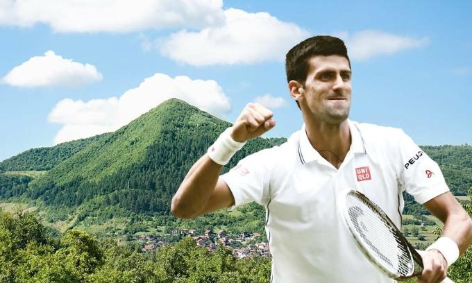 Kim tự tháp nơi 'chữa lành tổn thương' của Djokovic