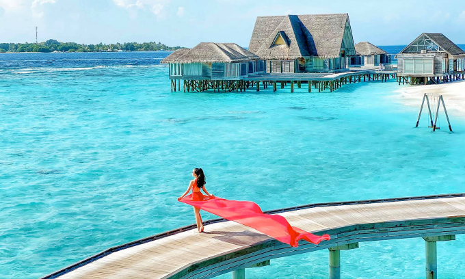 Khu nghỉ dưỡng xa hoa ở Maldives