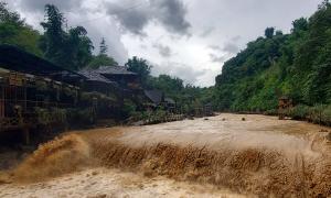 Bản Cát Cát hư hỏng nhiều hạng mục sau mưa lũ