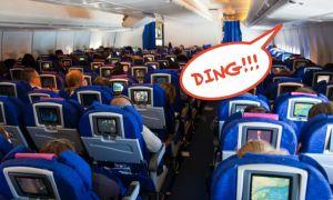 Ý nghĩa của tiếng 'ding' trên máy bay