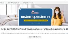 Có thể đặt khách sạn trực tuyến để cách ly ở TP HCM