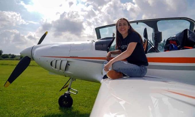 Cô gái 19 tuổi sẽ bay một mình vòng quanh thế giới