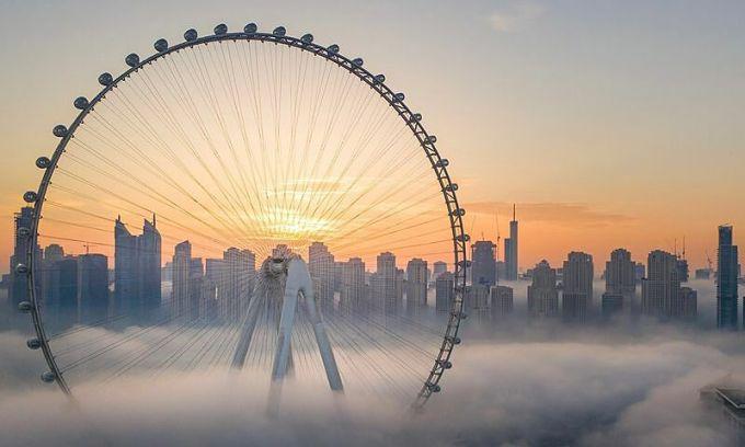 Vòng quay cao nhất thế giới sắp khai trương ở Dubai