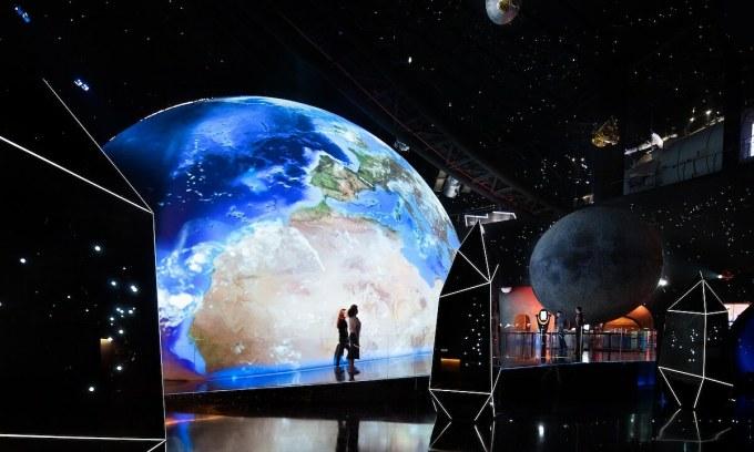 Bên trong bảo tàng thiên văn lớn nhất thế giới