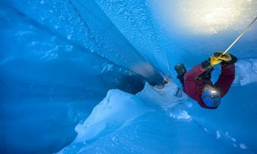 Những dòng sông băng bí ẩn