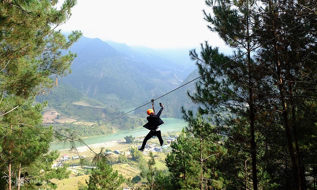 Tuyến zipline dài nhất Việt Nam nằm ở đâu?