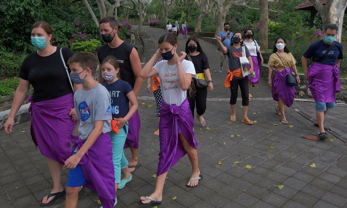 Bali dự kiến đón khách quốc tế từ 1/10