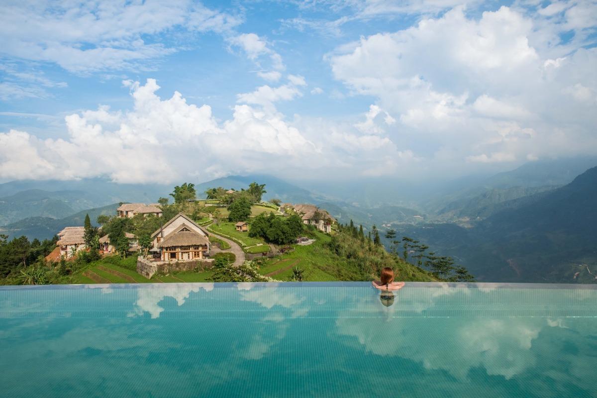Khu nghỉ dưỡng Sa Pa có hồ bơi độc đáo nhất thế giới