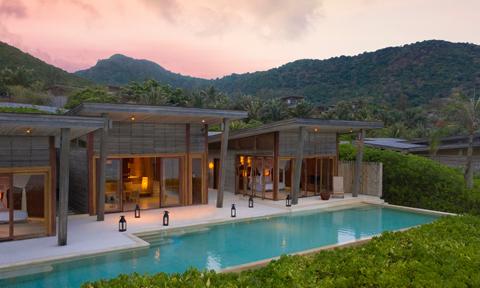 Vẻ đẹp khu nghỉ dưỡng tốt nhất Đông Nam Á ở Côn Đảo